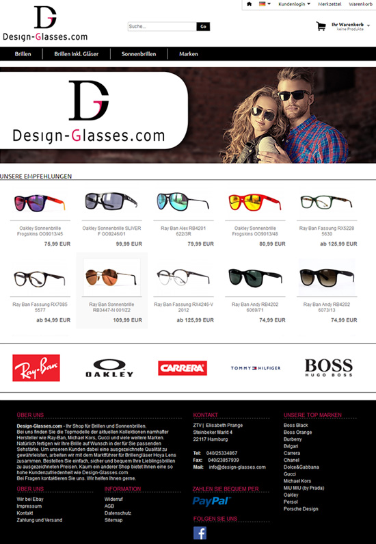Bild der Referenz: design-glasses.com